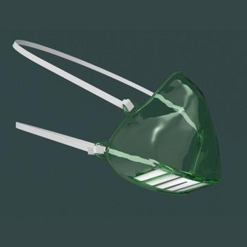 Mascarilla cónica sin válvula FFP2