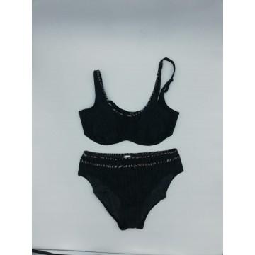 Mascarilla  papel 3 capas con goma (caja 50 uds)