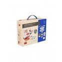Guantes de plástico desechable