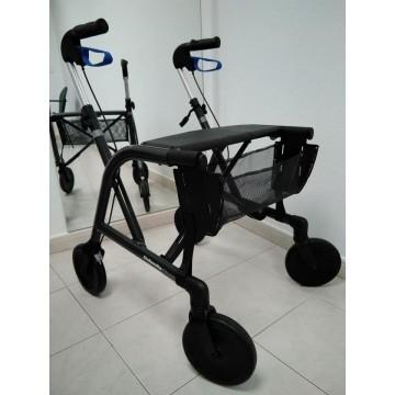 Bañador negro con detalles dorados