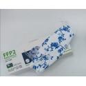 Mascarilla transparente higiénica reutilizable con filtro