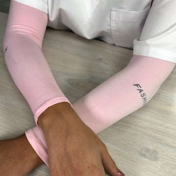 Camiseta crochet tirantes con bolsillos para prótesis