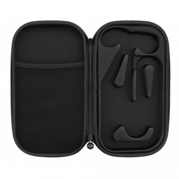 Bikini negro con detalles blancos