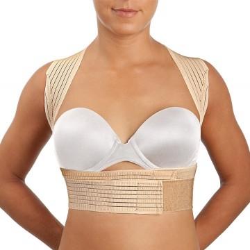 Cinturón abdominal con pieza perineal