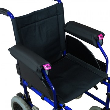 Silla de ruedas plegable aluminio